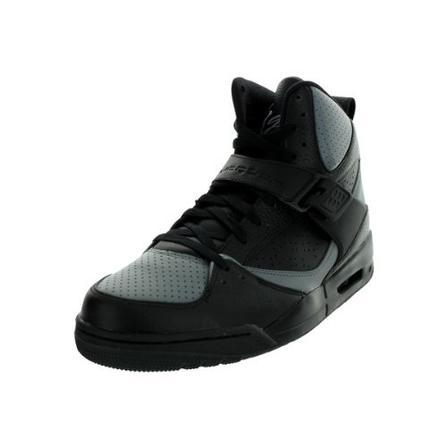 d716898a21901f Nike Air Jordan Flight 45 High Mens Basketball Shoes 616816-010 Black 9.5 M  US