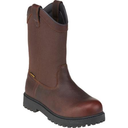 ba684168ab3c ... Brazos Men s Ironmite II Wellington Steel Toe Work Boots ...